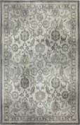 Euphoria, 90259-5913, New Ross Ash Grey Area Rug, 100% Triexta (SmartStrand Silk)
