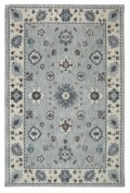 Euphoria, 90646/90075, Kirkwall Willow Grey Area Rug, 100% Triexta (SmartStrand Silk)