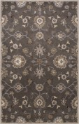 Poeme, PM105, Gray/Ivory Area Rug, 100% Wool