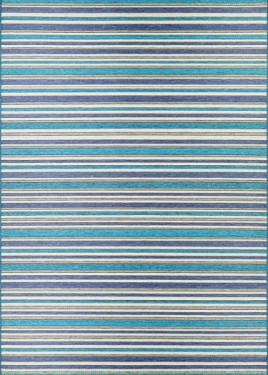 Brockton, CAP1, Cobalt-Teal (3'11x5'6 / Rectangle) Rug, 100% polypropylene
