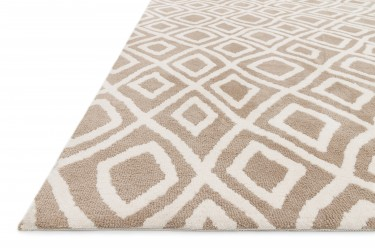 CHARLOTTE, CT-02, BEIGE (2'3x3'9 / Rectangle) Rug, 100% POLYESTER