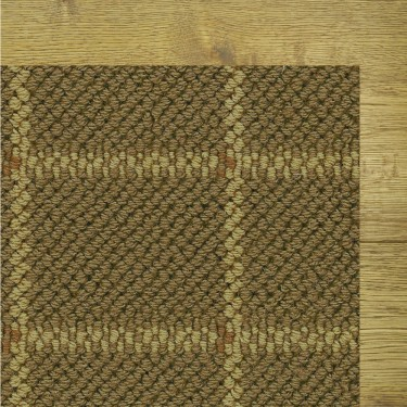 San Marco Square Terrace Sage Rug, 100% New Zealand Wool