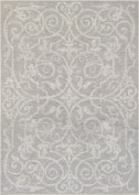 Summer Quay, MON1, Cocoa Natural Area Rug, 100% polypropylene