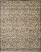 RHAPSODY, RH012, BLUE MOSS Area Rug, 80% WOOL, 20% NYLON