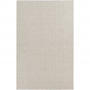Ravena, RVN-3003, Taupe, Cream Area Rug, 100% Wool