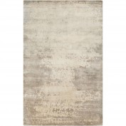 Slice Of Nature, SLI-6402, Cream, Taupe, Medium Gray, Beige, Light Gray Area Rug, 10% Viscose, 90% Wool