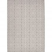 Urban Bungalow, UB09, Ivory/Gray Area Rug, 100% Wool
