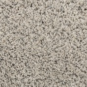 Amore Solid, AMOR1, Light Grey Area Rug, 100% Polypropylene