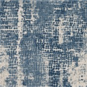 Abstract Mosaic RUS06, RUSTX, Ripple Area Rug, 51% Polypropylene, 49% Polyester