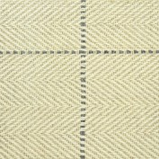 Peter Island Squared Linen Rug, 100% Wool