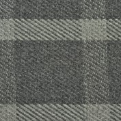 Road town Charcoal Rug, 100% Wool