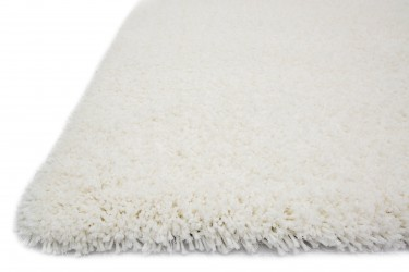 COZY SHAG, CZ-01, IVORY (3'6x5'6 / Rectangle) Rug, 100% POLYESTER