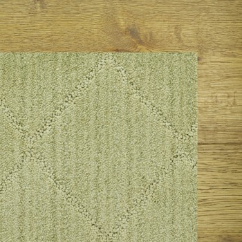 Solitaire Woven Reed Rug, 100% Stainmaster Nylon