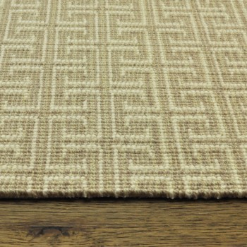 Tillary Sandstone Rug, 50% Wool/50% Polyester
