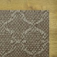 Zodiac Silvered Grey Rug, 100% Sisal